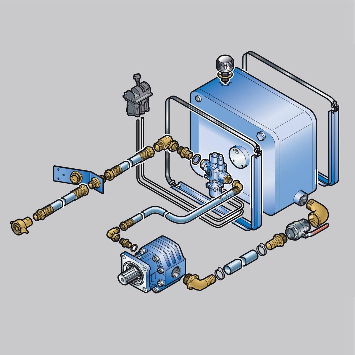 Комплект гидрофикации